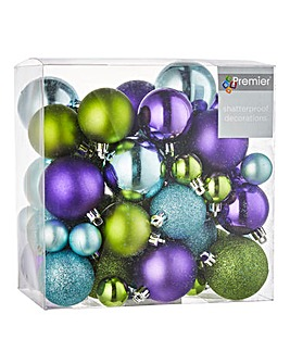 Party Time 50 Piece Bauble Pack