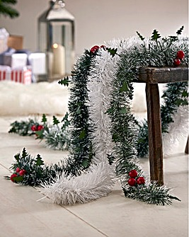 Winter Nostalgia Tinsel Pack of 3