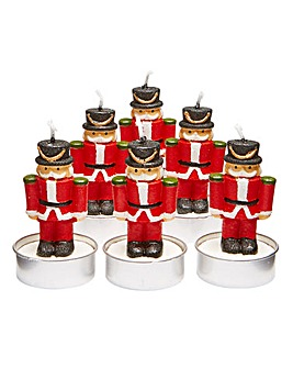 Set of 6 Nutcracker Tealights