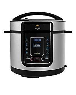 Pressure King Pro 5 Litre Chrome Cooker