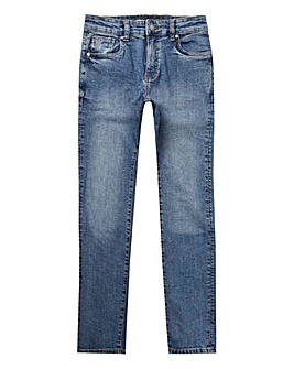 Farah Blue Skinny Jeans