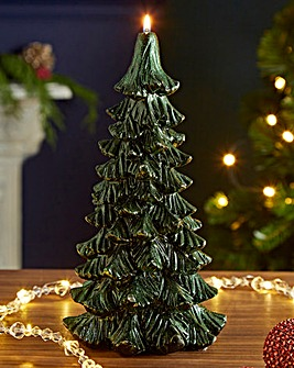 25cm Christmas Tree Candle