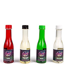 The Slush Bar Cocktail Flavour Syrup Set
