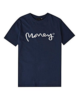 Money Navy Chrome Ape T-Shirt