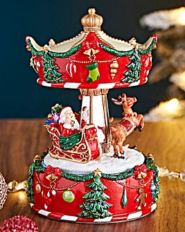 Christmas Carousel Animated Scene