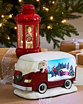 Santa's Camper Van Animated Scene
