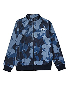 Money Navy Camo Track Top