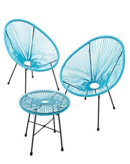 Salsa Bistro Set Blue