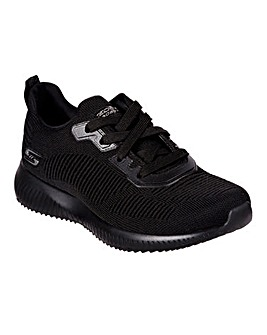 Skechers Bobs Squad Tough Talk Trainers Wide Fit