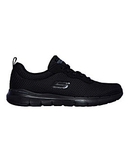 Skechers Flex Appeal Wide Fit Trainers