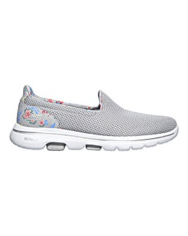 Skechers Go Walk 5 Print Trainers