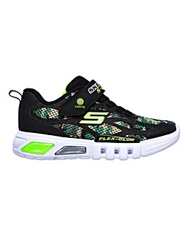 Skechers Flex-Glow Camo Lights Trainers