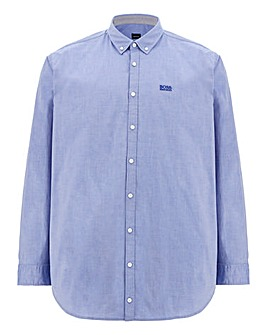 BOSS Poplin Stretch Shirt