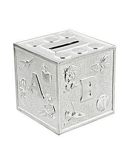 Bambino Alphabet Cube Money Box