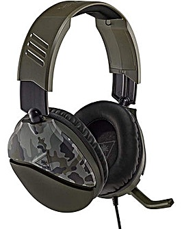 Turtle Beach Recon 70 Green Camo Headset