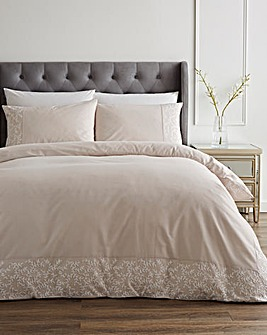Filigree Embroidered Duvet Set