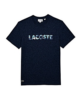 Lacoste Mighty Palm Print Logo T-Shirt