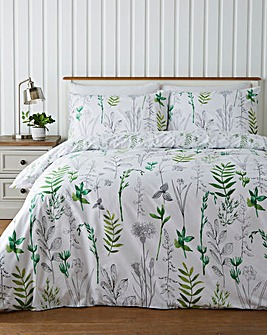 Mae Printed Reversible Duvet Cover Set