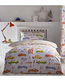 Cars Reversible Duvet Set