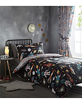 Spaceman Reversible Duvet Set