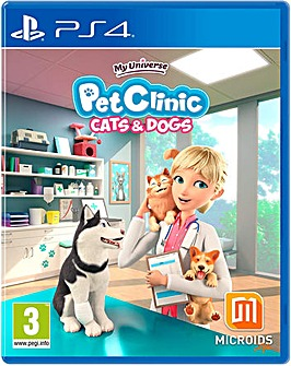 My Universe Pet Clinic Cats  Dogs PS4