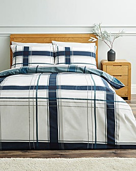 Lawrence Check Duvet Cover Set