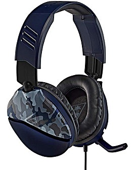 Turtle Beach Recon 70X Blue Camo Headset