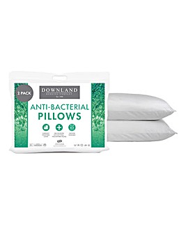 Anti-Bacterial Two Pack Of Pillows