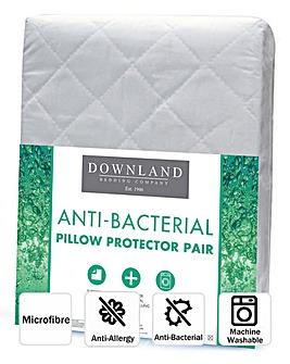 Anti-Bacterial Pillow Protector Pair