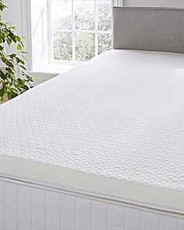 2.5cm Memory Foam Mattress Topper with Cover