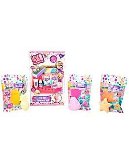 XOXO Spa Pedicure And MYO Bath Bomb Set - Melon, Star And Pineapple Bath Bomb