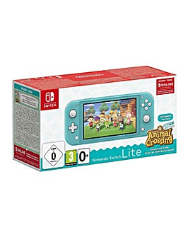 Switch Lite Turquoise  Animal Crossing