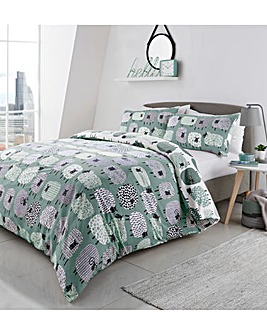 Dotty Sheep Duvet Cover Set