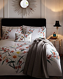 Oasis Osaka 180 Thread Count Cotton Duvet Cover Set