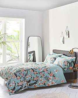 Oasis Delray 100% Cotton Duvet Cover Set