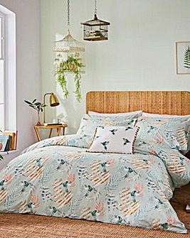 Fat Face Paradise Parrot Duvet Set