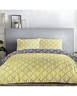Brooklyn Diamonds Reversible Duvet Set
