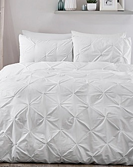 Serene Lara White Duvet Cover Set