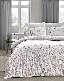 Evie Blush Duvet Cover Set