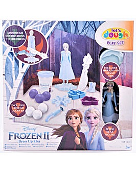 Disney Frozen 2 Elsa Dough Scene With Cutters