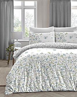 Evie Green Duvet Cover Set