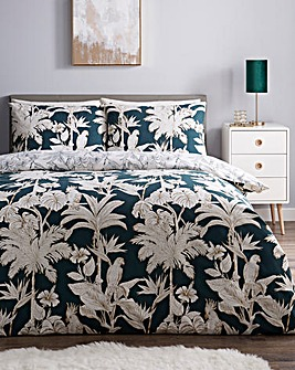 Jada Printed Reversible Duvet Cover Set