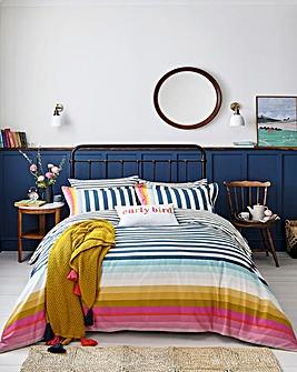 Joules Cambridge Stripe Duvet Cover Set