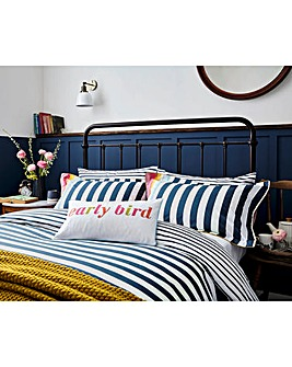 Joules Cambridge Stripe Pillowcase Pair