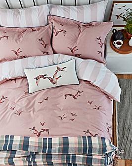Joules Flying Mallards Pillowcase Pair