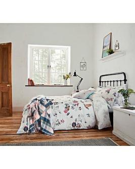 Joules Woodland Floral Duvet Cover Set