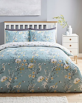 Amble Duck Egg Duvet Cover Set