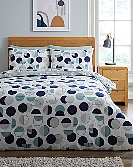 Perri Blue Duvet Cover Set