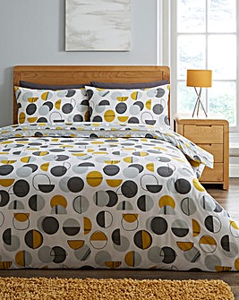 Perri Ochre Duvet Cover Set