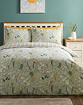 Hereford Seafoam Duvet Cover Set